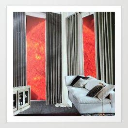 Your Modern Celestial Home V Art Print