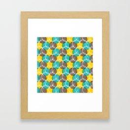 Bubble Bursts Framed Art Print
