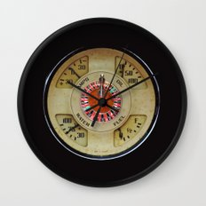 Custom Car Instrument Design with Lucky Roulette Wheel Wall Clock