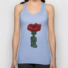 Poppy Girl Unisex Tank Top