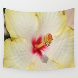 Beautiful Yellow Hibiscus Flower  Wall Tapestry