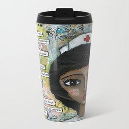 Nurse - African American  Travel Mug
