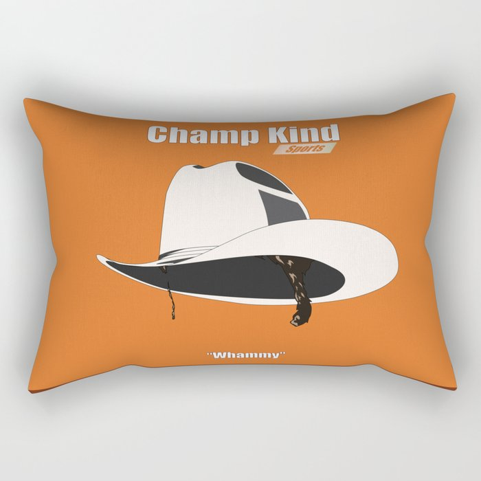Champ Kind: Sports Rectangular Pillow