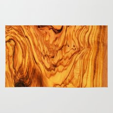 olive tree wood Rug