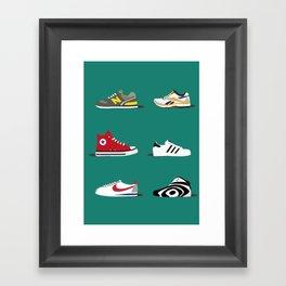 Sneakerlove Framed Art Print