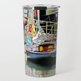 A Harbor view of Coos Bay Travel Mug