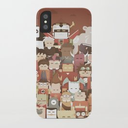 The Nick Yorkers family portrait  iPhone Case