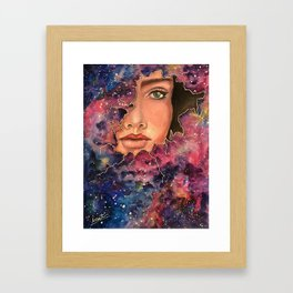 A Shell As Big As the Universe Framed Art Print