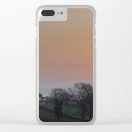 Spring Sunrise Clear iPhone Case