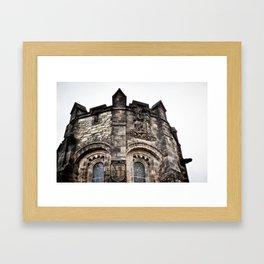 Edinburgh Castle Tower Framed Art Print