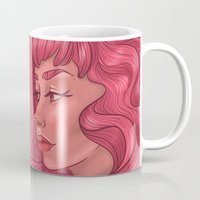 princess bubblegum Mugs featuring Princess Bubblegum by Persefone