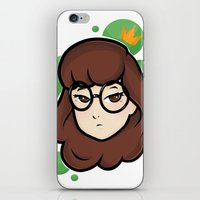 daria iPhone & iPod Skins featuring Daria by ocamixn