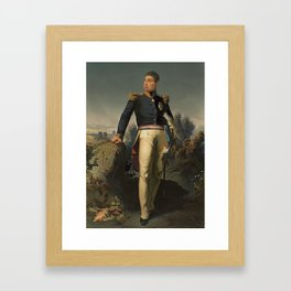 Marquis de Lafayette - French Member of The American Revolution Framed Art Print