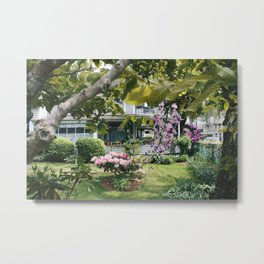 The importance of flowers  Metal Print