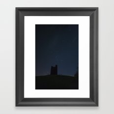 Audleys castle Framed Art Print
