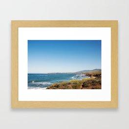 The Central Coast Calls Framed Art Print