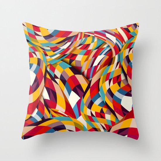 Bang Throw Pillow