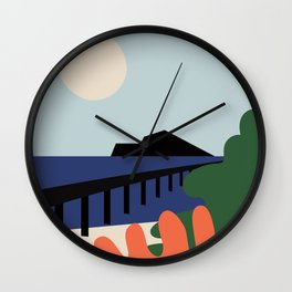 Summer day Wall Clock