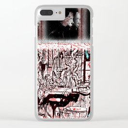 Eleven Stranger Upside Downs Clear iPhone Case