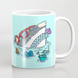 Beach Party Shark Coffee Mug