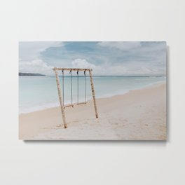 Summer Beach Time II Metal Print