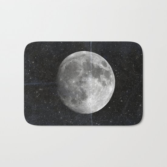 Moon and Stars Bath Mat