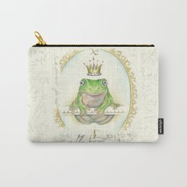 A prince for me.  PrinceFrog Carry-All Pouch