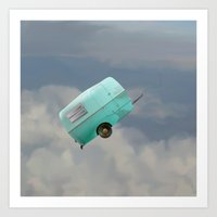 Art of Flying: The Caravan Art Print