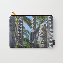 Tikis Carry-All Pouch