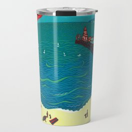 Red Arrows, Bournemouth Travel Mug
