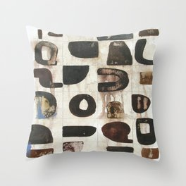 After The Laughter Throw Pillow