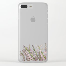 Blooming marvelous Clear iPhone Case