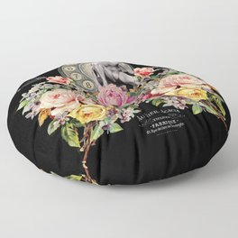 Nuit des Roses Revisited for Him Floor Pillow
