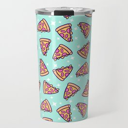 Pizza Magic // Green Travel Mug