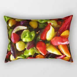Chili Pepper Luck charm Rectangular Pillow