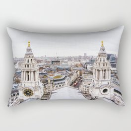 City View over London from St. Paul's Cathedral Rectangular Pillow