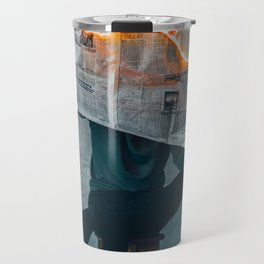 The World on Fire (Color) Travel Mug
