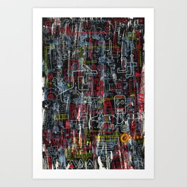 Tezverensultan Art Print