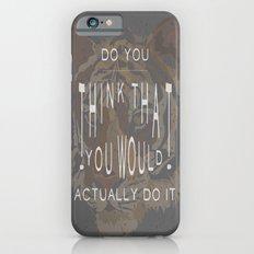 ANALOG: TONY, THE TIGER Slim Case iPhone 6s