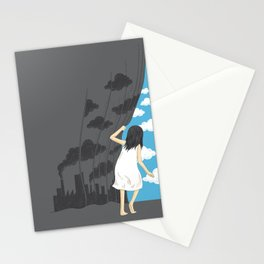 Hey Mr. Blue Sky Stationery Cards
