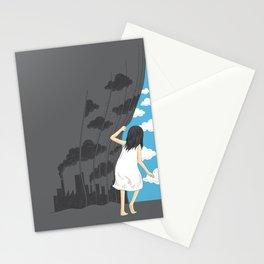 Hey Mr. Blue Sky Stationery Cards
