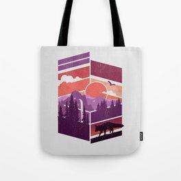 Vanishing Points Tote Bag