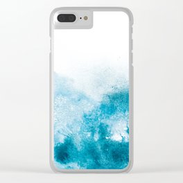OCEANBLUE Clear iPhone Case
