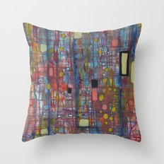 nervures Throw Pillow