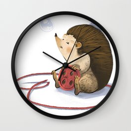 Hedgy Wall Clock