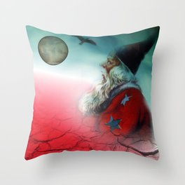 what happened to the world Throw Pillow