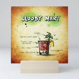 Bloody Mary Mini Art Print