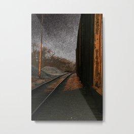 RUST. Metal Print