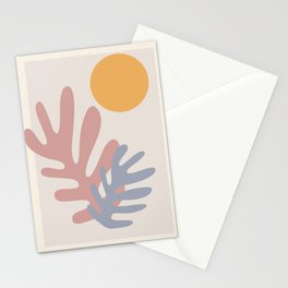 Henry Matisse Inspired Leaves Stationery Cards