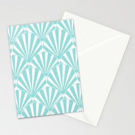 Sea shell Blue Stationery Cards